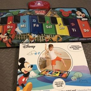 ✳️ Disney Mickey Mouse music mat